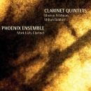 Phoenix Ensemble with Mark Lieb: Clarinet Quintets: Feldman, Babbitt